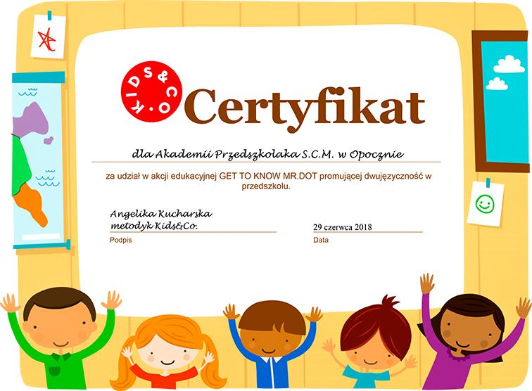 Opoczno-certyfikat