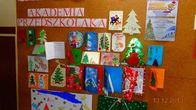"""konkurs plastyczny """"choinka z Mrowka"""" - Akademia Przedszkolaka Opoczno"""