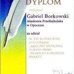 """Gabriel B. z grupy """"Jeżyki"""""""