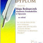 """Mja B. z grupy """"Żabki"""""""