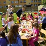 Dzieci Dzieciom- poczęstunek