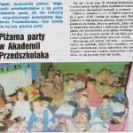 Piżama Party w Akademii