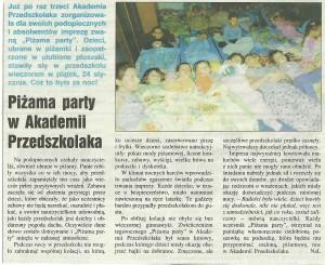 Piżama Party 2013/2014