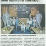 I Turniej szachowy o tytuł Burmistrza Opoczna w AP